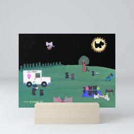 THE GREAT SCOTTISH TERRIER ECLIPSE Mini Art Print