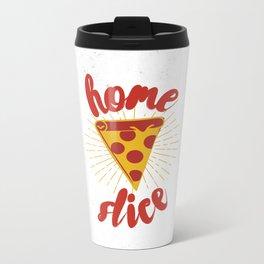 Home Slice Metal Travel Mug