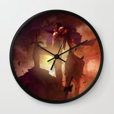 Luca Blight the Beast of Suikoden II Wall Clock