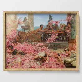 The Roses of Heliogabalus Serving Tray