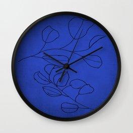 leaves study Wall Clock