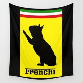 French Bulldog Ferrari  Wall Tapestry