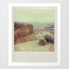 Canyonland National Park - Polaroid Art Print