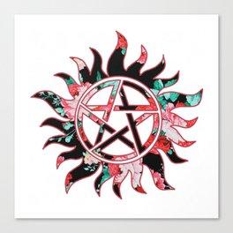 Anti-Possession Symbol Canvas Print