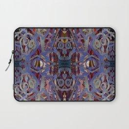Skulls Purple Rouge Laptop Sleeve