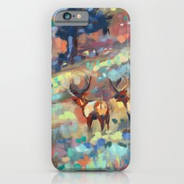 Bull Elk, Yellowstone iPhone Case