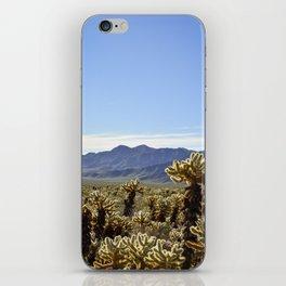 Cholla Cactus Garden iPhone Skin