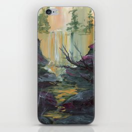 Waterfall Cliffs iPhone Skin