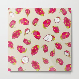 Dragon Fruit Metal Print