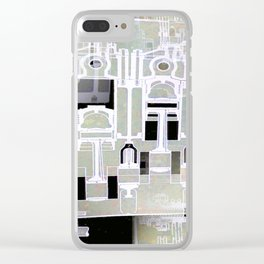 Techo 1 Clear iPhone Case