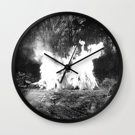 slow-burner Wall Clock
