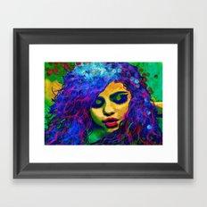 Selena (pop) Framed Art Print