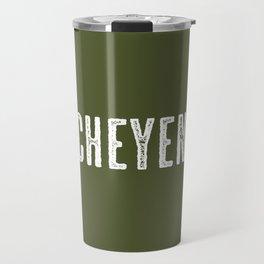Deer: Cheyenne, Wyoming Travel Mug