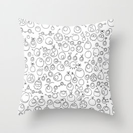 Munnen - Space between us Throw Pillow