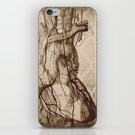 My Wooden Heart iPhone Skin