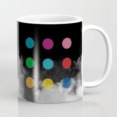Storm Clouds + Colored Dots Mug