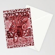 Aka Tako (Red Octopus) Stationery Cards