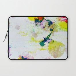 Abstract Paint Splatter Art Laptop Sleeve