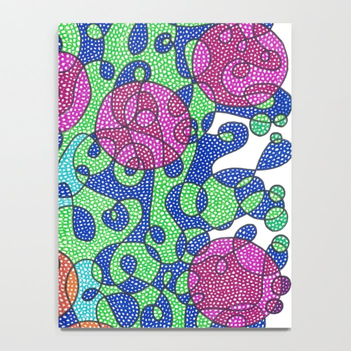 Abstract Dots #1 Notebook