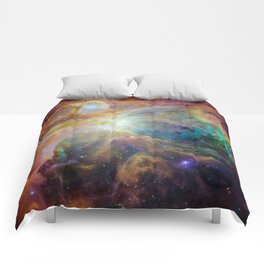 View of Orion Nebula Comforters
