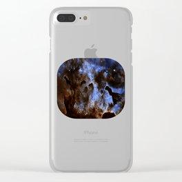 Nebula Carina Clear iPhone Case
