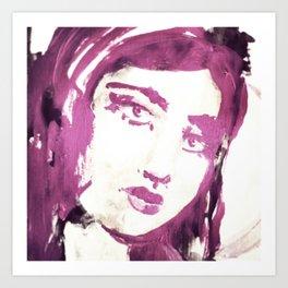 Portrait 114 Art Print