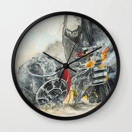 Tie fighter Wall Clock