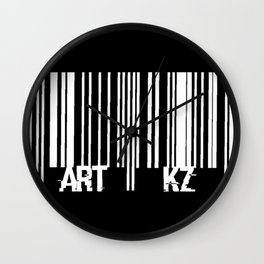"""BarCode2"" Wall Clock"