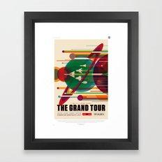 NASA/JPL Poster (The Grand Tour) Framed Art Print