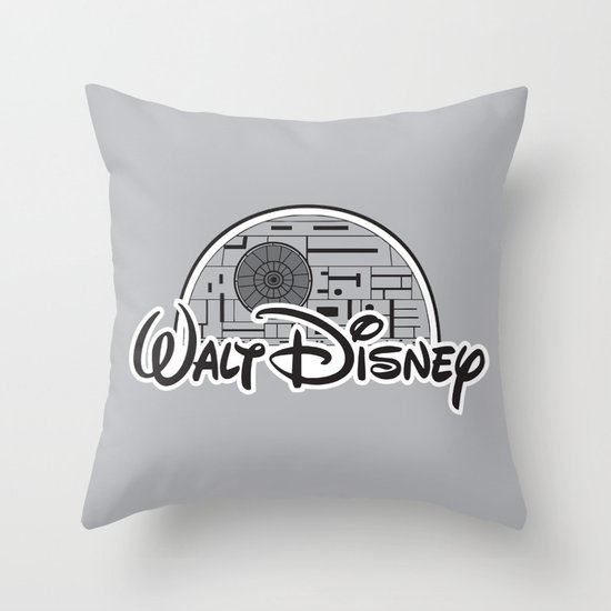 Walt Dislucasny Throw Pillow