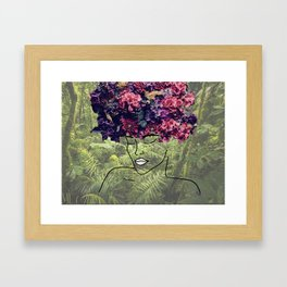 Flores Salvajes (Wild Flowers) Framed Art Print