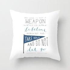 Redeeming Love Throw Pillow