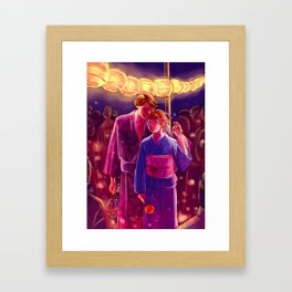 Matsuri Framed Art Print
