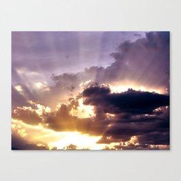 Suns Rays Canvas Print
