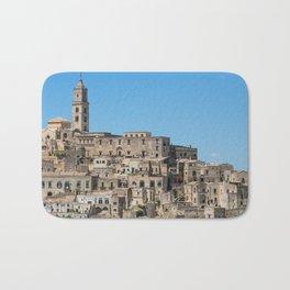Sassi di Matera ancient city Bath Mat