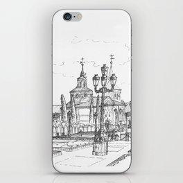 Plaza de Cervantes iPhone Skin
