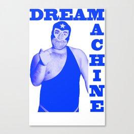 Memphis Wrestler Dream Machine Canvas Print