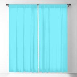 Spring - Pastel - Easter Blue Solid Color 2 Blackout Curtain