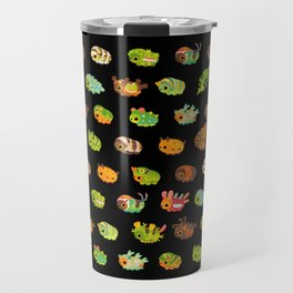 Caterpillar - dark Travel Mug