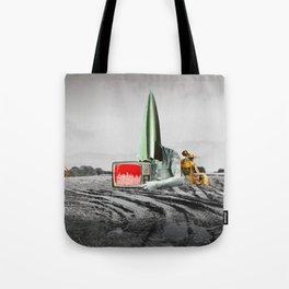 atmosphere · es ist gesäht Tote Bag