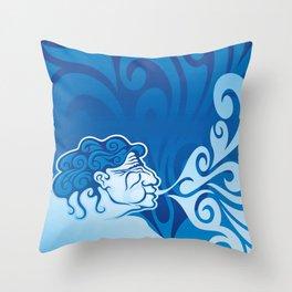 Aeolus Throw Pillow