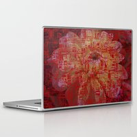 asian Laptop & iPad Skins featuring Techno Asian by DesignsByMarly