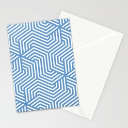 Livid - turquoise - Minimal Vector Seamless Pattern Stationery Cards