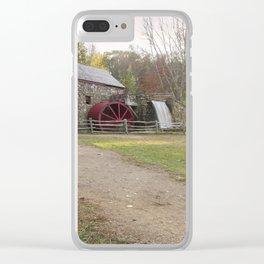 Wayside Inn Mill Clear iPhone Case