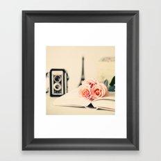 Little Diary Framed Art Print