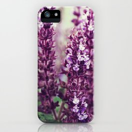 Purplely iPhone Case