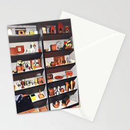 My oh my what is on the shelf?  Stationery Cards