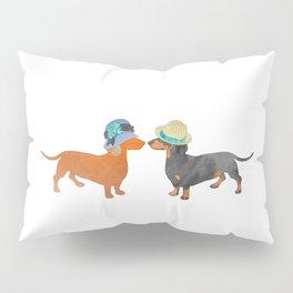 Dachshund love Pillow Sham