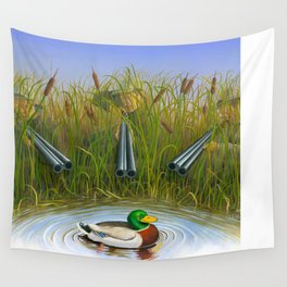 Sitting Duck Wall Tapestry