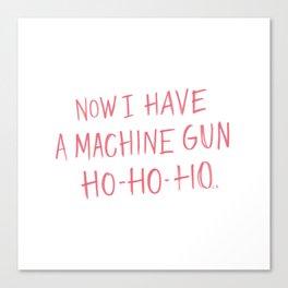 Ho-Ho-Ho Canvas Print